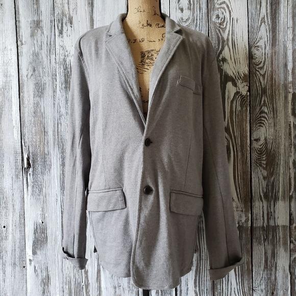 shread & Thread Other - Shread & Thread mens Jersey knit Blazer MX